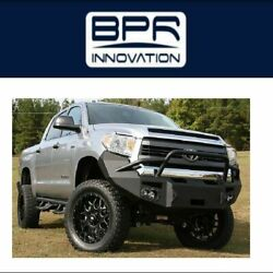 Fab Fours For 2014-2017 Toyota Tundra Premium Winch Front Bumper - Tt14-h2852-1
