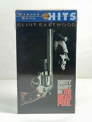 Clint Easwood Dirty Harry In The Dead Pool Vhs 1997 Wb Hits New Sealed