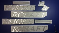 Smokercraft Boat Emblems 41 + Free Fast Delivery Dhl Express Raised Decals