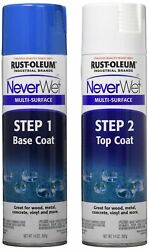 Rust-oleum 275185 Never Wet 14-ounce 2 Part Kit, Frosted