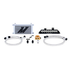 Mishimoto Silver 19 Row Thermostatic Oil Cooler Kit For 2013+ Ford Focus St