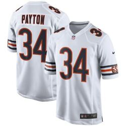 Brand New Nike 2021 Nfl Chicago Bears Walter Payton Game Retired 34 Jersey Nwt