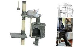 Cat Tree and Towers Modern Cat Tree with Scratching Post Cat Houses for