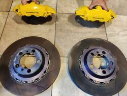 2016 16 Porsche 991 Gt3/gt3rs/ 991 Rear Low Milage Brakes And Rotor Oem