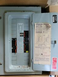 Federal Pacific Stab Lok Load Center With 100 Amp Main And Breakers Lot 17
