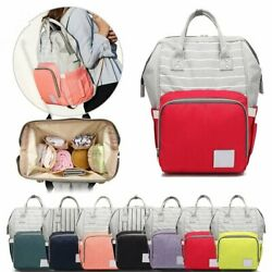 Multi Function Living Traveling Share Baby Diaper Bag Waterproof Backpack Nappy $19.99