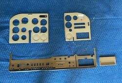 Pilot / Co-pilot And Lower Panel Plastic From Cessna 180j