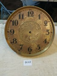 Art Deco German Grandfather Clock Movement And Dial