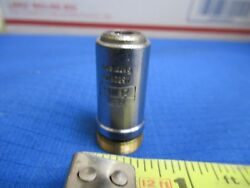 For Parts Carl Zeiss Objective Epi 10x Microscope Part As Pictured Ands1-a-27