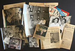 Errol Flynn In Cuba 1950's Collection Of Photos, Book, Magazine And Newspapers