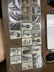 Lot Of 58 Beatles Cards - A Hard Days Night Trading Cards