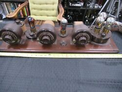 Atwater Kent Antique Radio Breadboard Type 10c Homebrew Rare As Pictured Andlob