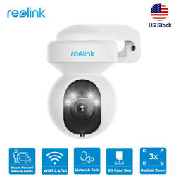 Reolink Wireless Security Camera 5mp Ptz Wifi Cam Person Vehicle Alert E1outdoor