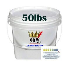 Swimming Pool Chlorine Tablet Pieces And Powder 90 Active Tri-chlor 50lb Bucket