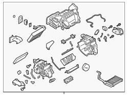 Genuine Nissan Ac And Heater Assembly 27210-9ra0b