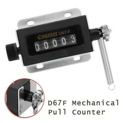 1pcs Mechanical Counter Accessory D67-f Manual Hand Pull Stroke Tally Click New