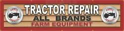 Tractor Repair Generic Dealer Letter Sign Remake Large Banner Mural Xxl Sizes