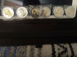 Great American Presidents + Ronald Reagan Double Eagle Commemorative Coins