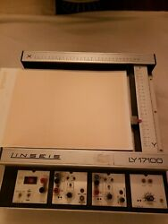 Linseis Ly17100 Ly Flatbeed Chart Recorder. 100 Tested