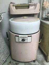 Charming Pink Antique Kenmore Washer