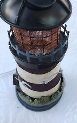 Light House Lamp Table Or Hanging 11 Tall 3d Effect Flying Seagulls Nautical