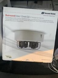 Arecont Vision Surroundvideo Omni Av12376rs 12 Megapixel Network Camera - Color