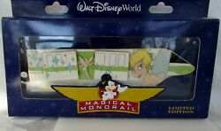 Disney Wdw Jumbo Monorail Pin Magical Collection Tinker Bell Le 750