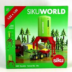 Farmer Tractor Machinery Siku World 5602 Standsilo Ages 3+ Diecast New