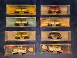 N Scale Atlas And Roundhouse 30' Beer Can Tank Cars - Use Drop Down To Select