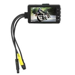 1080p 3 Inch Lcd Screen Dual Camera For Motorcycles Data Concealed Recorder Dual