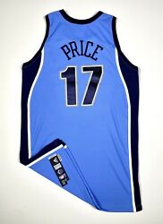 Ronnie Price Game Worn / Issued Autographed Utah Jazz Jersey Nba Adidas Signed
