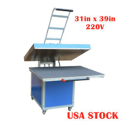 Us Stock 31 X 39 In Large Format Manual Thermo Transfer Heat Press Machine
