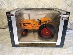 Speccast 1/16 Diecast Agco Minneapolis Moline 445 Nf Tractor W/wheel Weights