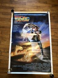 Back To The Future - Original 1985 Rolled 1sheet Movie Poster- Michael J Fox