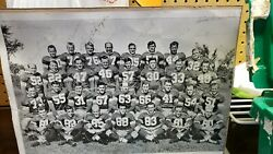 Baltimore Colts 1949 Autographed Team Picture