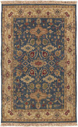 Surya Smk-51 Soumek Hand Knotted Teal Area Rugs