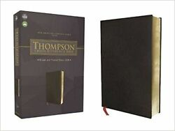 Nasb, Thompson Chain-reference Bible, Bonded Leather, Black, Red Letter, 1977...