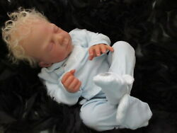 Ooak Reborn Tami Yarie Rare Kit Devine Baby Boy Rooted Hairextrasfree Ship