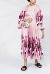 Valentino Pop Feathers Print Dress- With Tags- Rrp7400 Aud