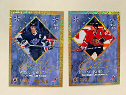 1994-95 Gold Leaf Stars Hockey Inserts Serialed To 10000 You Pick From List