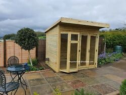 Summer House Cabin Shed Garden Office Man Cave Bar Gym Delivery 8-14 Weeks