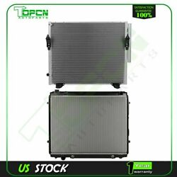 Fits 2006 Toyota Tundra Replacement Radiator And Condenser Assembly