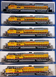 N Scale Kato Sd90-43mac Locomotives Union Pacific With Dcc Use Drop Down Menu