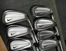 Nike Golf By Miura Prototype Golf 7xirons S400 39 Tour Issue Collectors Rare