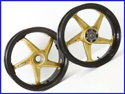 1997 Ducati 748 916 996 998 S4r Dymag Carbon Magnesium Wheel Front And Rear Set Uu