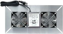 Extractor Fan Ventilation Wall-mounted Crawl For Garage, Attic, Space, Basement