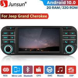 1 Din Android Car Dvd Gps Stereo Radio For Jeep Grand Cherokee/chrysler /dodge