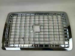 2nd Gen All Chrome Front Grille Grille Without Bugscreen Fits Volvo Vnl 04-15