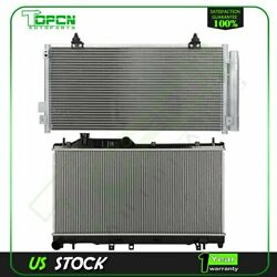 Fits 2008-2015 Subaru Impreza Replacement Radiator And Condenser Assembly