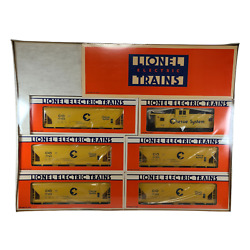 New Sealed 1988 Lionel 6-11705 Chessie System Limited Edition Train Boxed Set